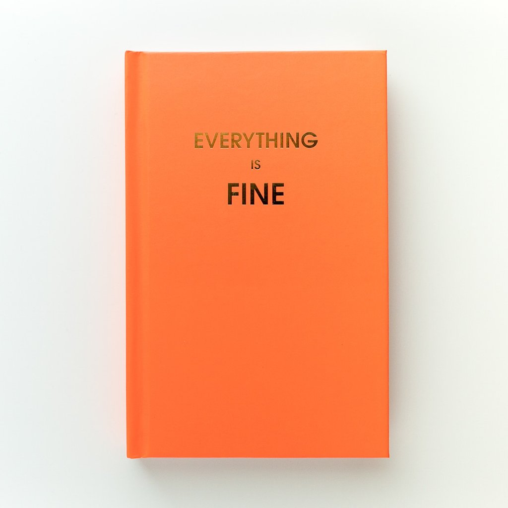 Chez Gagne' Journal | Everything is Fine | Cards/Stationary | $22