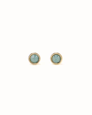 Lover's Tempo Mini Post | Pacific Opal | Earrings | $28