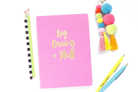 Taylor Elliott Notebook | Big Dreams | Cards/Stationary | $18