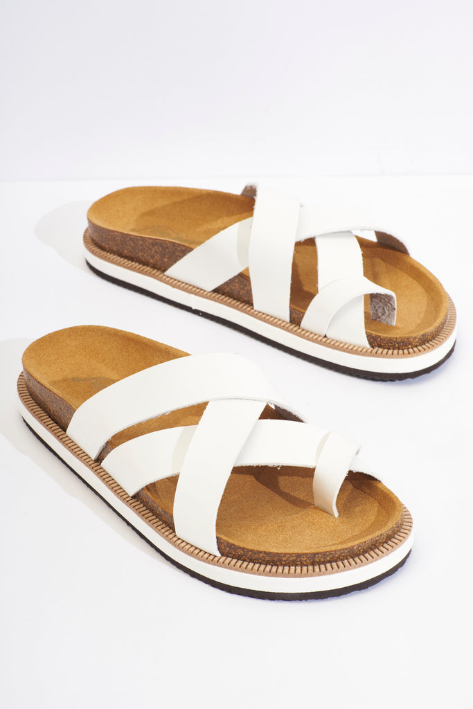 Free People Ventura | White | Sandals | $88