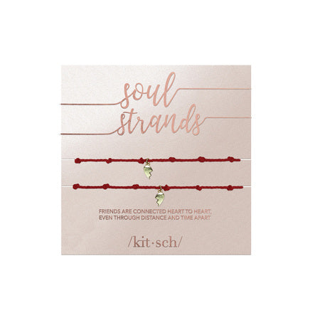 Kitsch Guiding Soul Strands | Heart  | Bracelets | $15