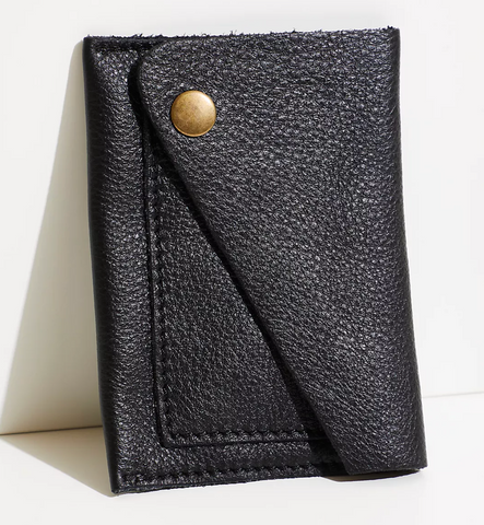 Free People Sol Fold | Black | Wallets | $30