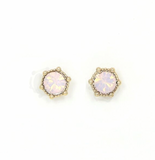 Lover's Tempo Astrid Stud | Pink Opal | Earrings | $28