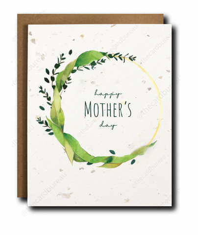 The Card Bureau Single | Plantable Mother's Day | Cards/Stationary | $5.99
