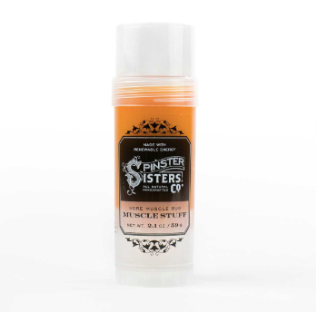 Spinsters Sisters Co. Muscle Stuff | Natural | Beauty | $17