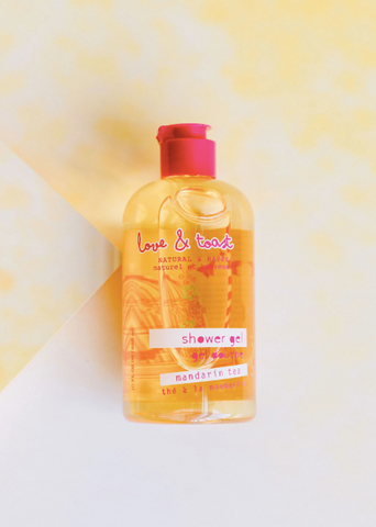 Love & Toast Shower Gel | Mandarin Tea | Beauty & Wellness | $16