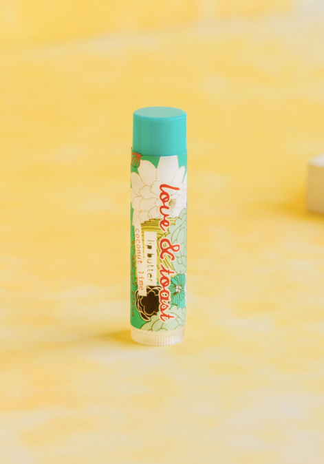 Love & Toast  Lip Butter | Coconut Lime | Beauty & Wellness | $4
