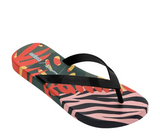 Melissa Ipanema Flip | Pink/Black | Sandals | $45