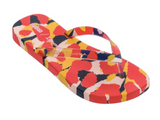 Melissa Ipanema Flip | Yellow/Red | Sandals | $45