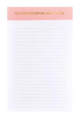 Chez Gagne' Notepad | Before Happy Hour | Cards/Stationary | $12