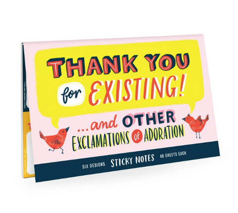 Emily McDowell & Friends Sticky Notes | Thank You | Cards/Stationary | $14