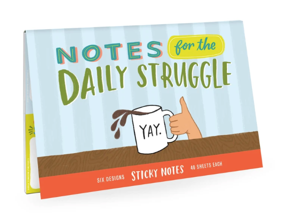 Emily McDowell & Friends Sticky Notes | Daily Struggle | Cards/Stationary | $14