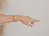 Love, Poppy Ava Adjustable Cuff | Gold | Bracelets | $24