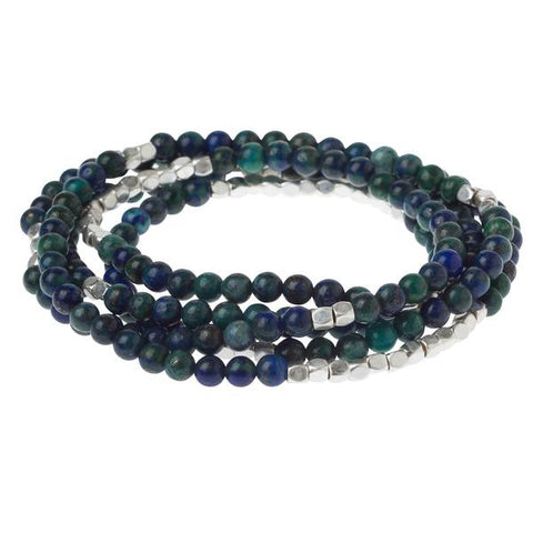Scout Bracelet Becomes A Necklace | Azurite | Jewelry | $28