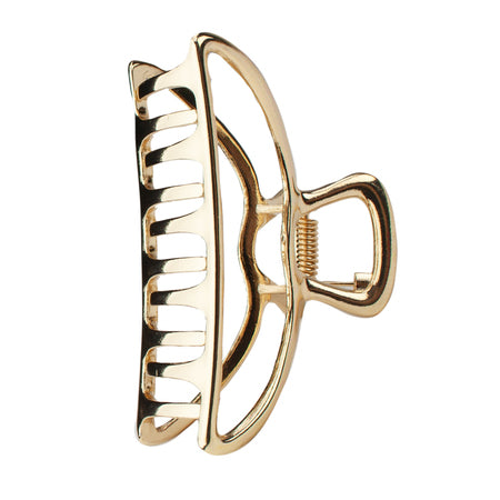 Kitsch Open Claw Clip | Gold | Hair Accessories | $9