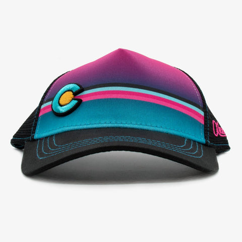Aksels Kids Low Pro | Colorado Striped Pink | Hats | $20