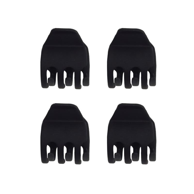 Kitsch Eco-Friendly Mini Claw Clips | Black | Hair Accessories | $8
