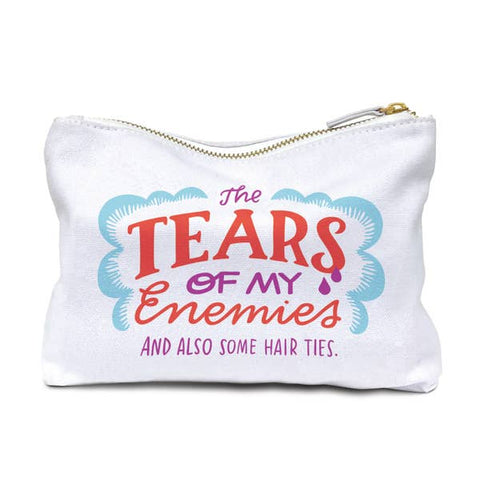 Emily McDowell & Friends Pouch | Tears Of My Enemies | Cases | $16.00