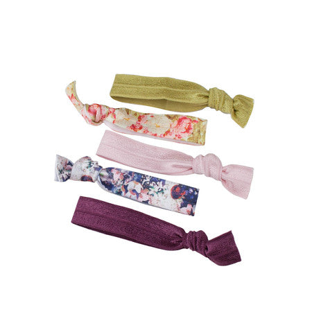 Kitsch Hair Ties | Floral | Hair Accessories | $8
