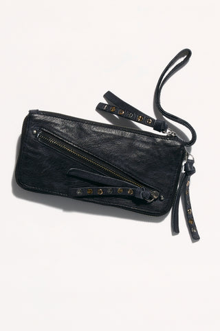 Free People Distressed Wallet | Black | Wallets | $48