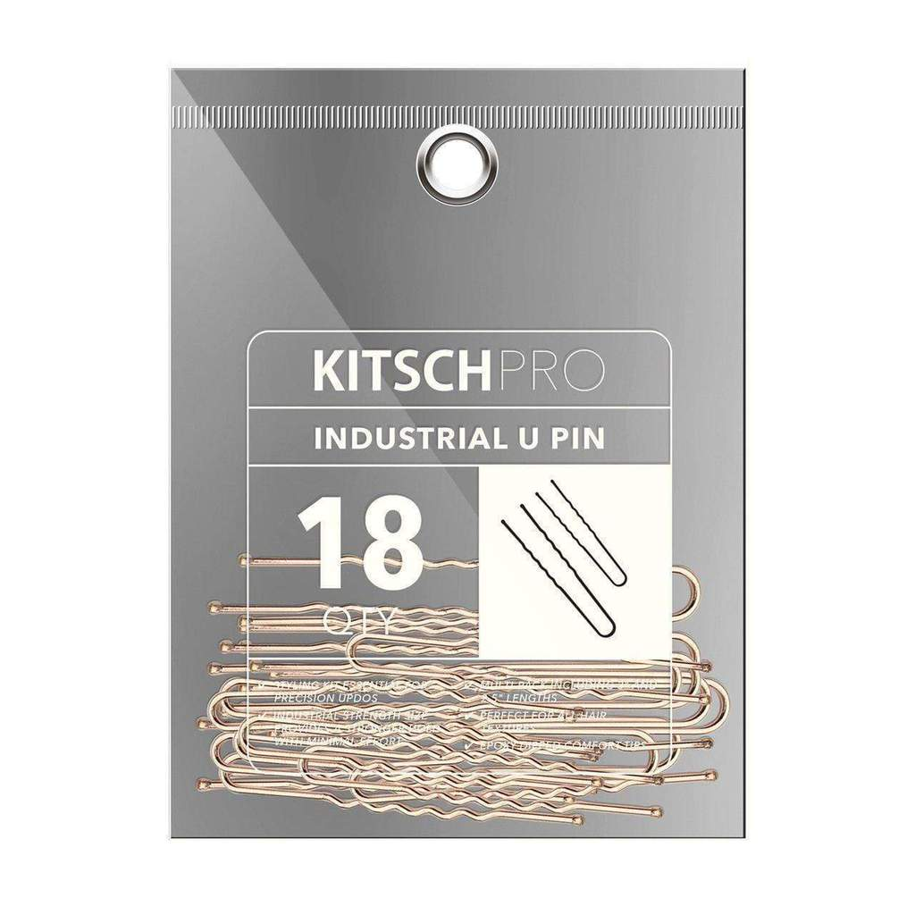 Kitsch Industrial U Pin | Rose Gold | Hair Accessories | $9
