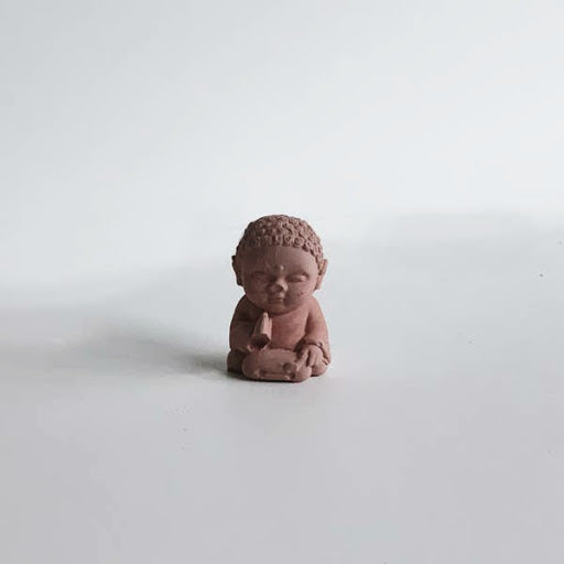 Uno Atelier Mini Buddha | Red | Home & Gifts | $16