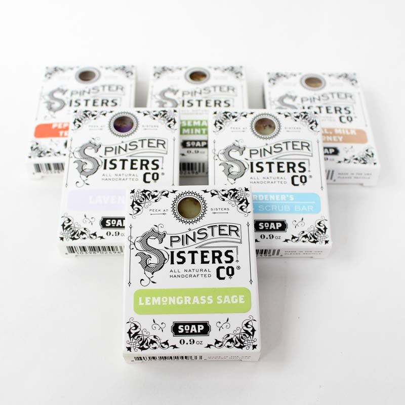 Spinsters Sisters Co. Mini Bath Soap Collection | Multi | Beauty & Wellness | $3