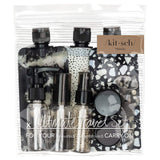 Kitsch 11 Piece Travel Set | Black | Beauty & Wellness | $14