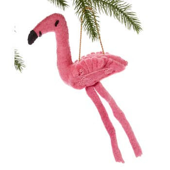 The Silk Road Bazaar Ornament | Pink Flamingo | Home & Gifts | $12