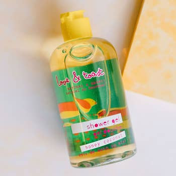 Love & Toast Shower Gel | Honey Coconut | Beauty & Wellness | $16