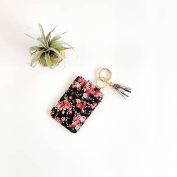 Funky Monkey Key Ring Wallet | Pink Mums | Wallets  | $18