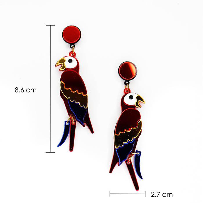 Colorful Parrot freeshipping - GIN & JACQIE