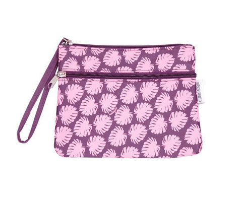 MAIN-MAIN ZIPPER POUCH (LEAF)