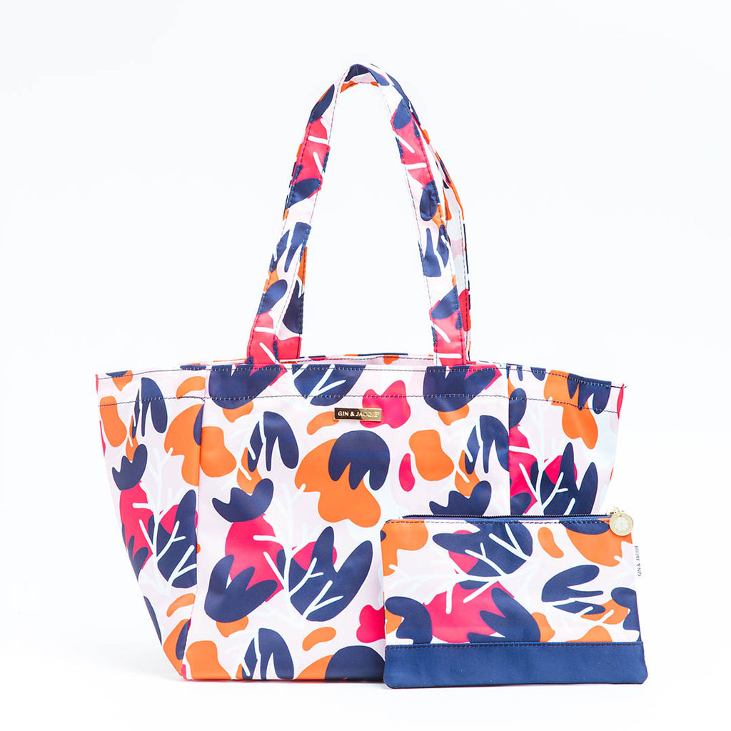 pink-lightweight-tote-bag - GIN & JACQIE