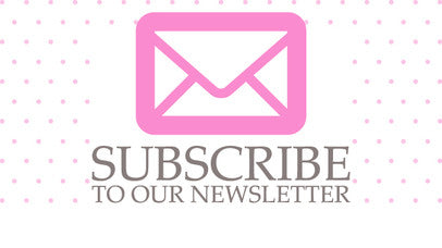 Subscribe to our Newsletter for info on promotions and deals!