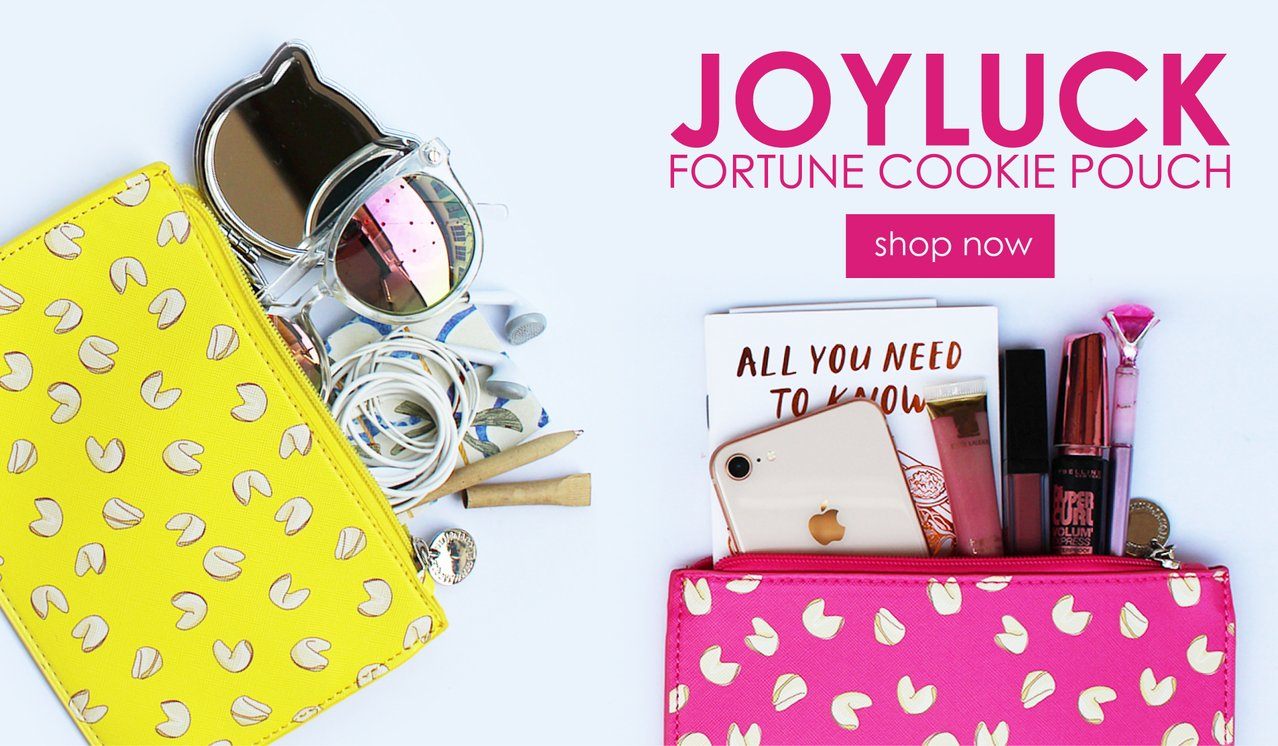 JoyLuck Fortune Cookie Pouch