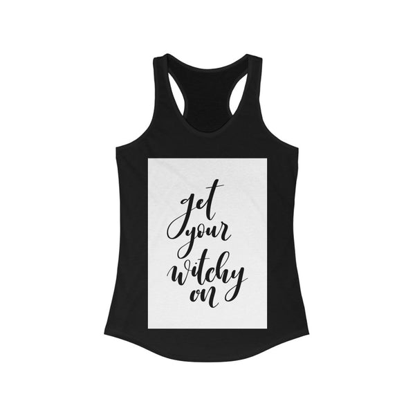 Witchy  Ideal Racerback Tank
