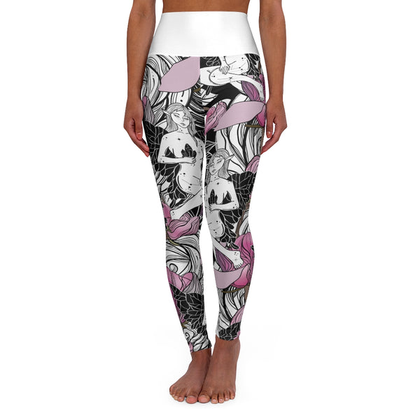 Fairy High Waisted Yoga Leggings