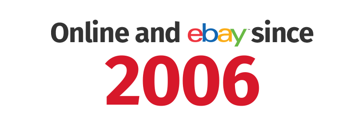 Online and ebay since 2006