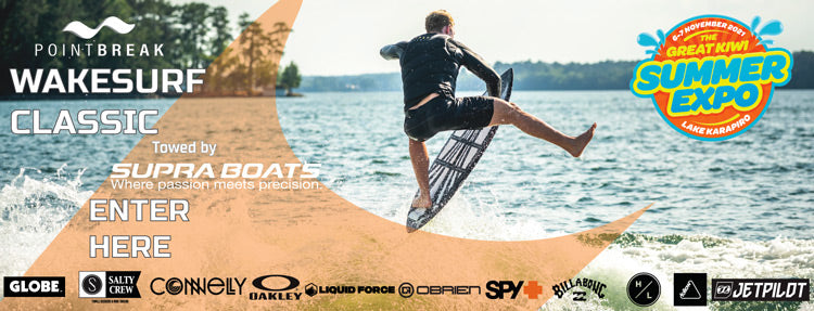 Point Break Wake Surf Classic - Towed by Supra Boats