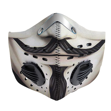 Hacker Anonymous Mask Carbon PM 2,5 Face Mask
