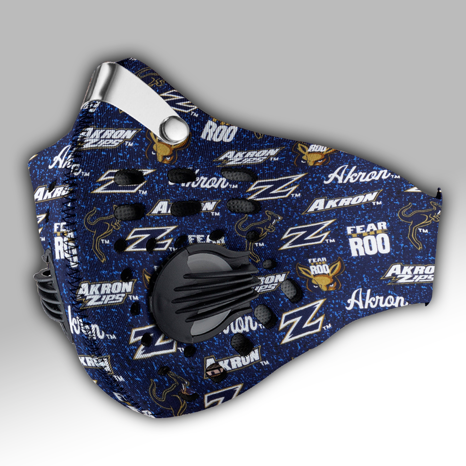 Akron Zips Carbon PM 2,5 Face Mask