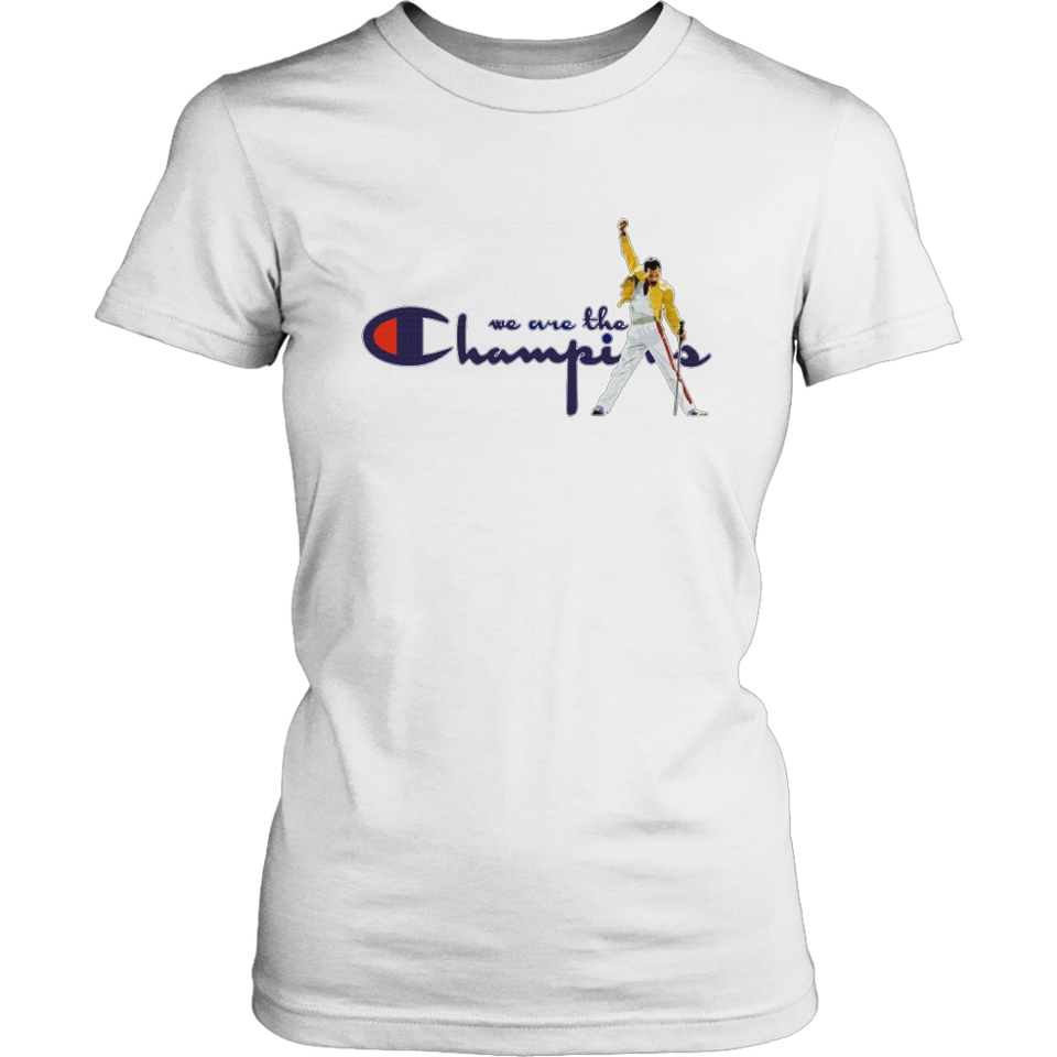 Freddie Mercury - We Are The Champions Shirt