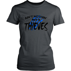 AIN'T NOTHIN' BUT A THIEVES SHIRT CAROLINA PANTHERS