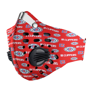 Los Angeles Clippers Carbon PM 2,5 Face Mask