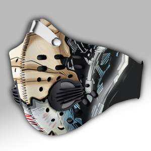 Terminator Mask Carbon PM 2,5 Face Mask