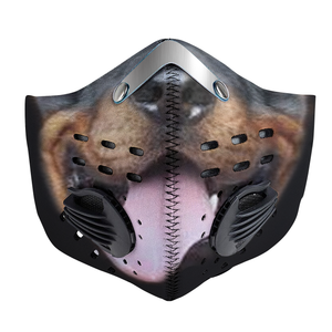 Rottweiler Mask Carbon PM 2,5 Face Mask