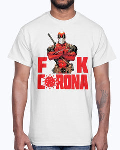 DEADPOOL FUCK CORONA SHIRT