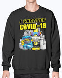 I Survived Covid-19 Pure Hell Sweater