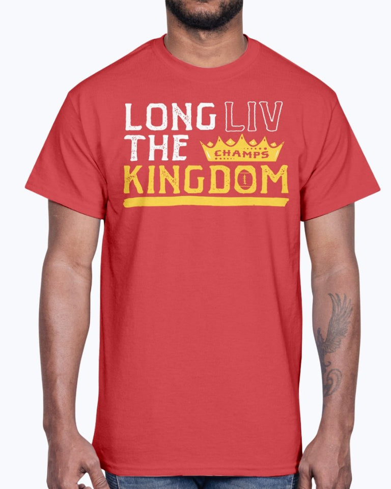 LONG LIV THE KINGDOM SHIRT  Kansas City Chiefs Super Bowl LIV Champions